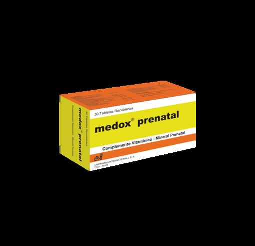 Imagen de MEDOX PRENATAL TAB/REC  X 30  FU.