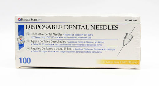 Imagen de Standard Needles 27Ga Long Plastic Hub